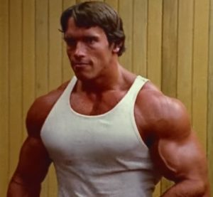 In the Golden Era of bodybuilding, Arnold and other big names in the sport infamously roided up before competition.