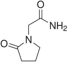 Piracetam molecule