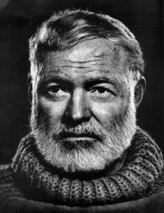 """I did not say that,"" - Ernest Hemingway"