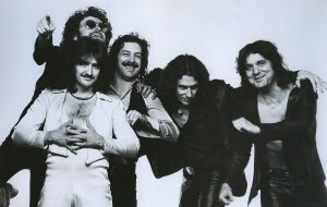 Then there's the Blue Öyster Cult... By Eric Meola, Columbia Records (eBay itemphoto backphoto front) [Public domain], via Wikimedia Commons