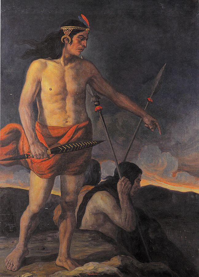 Before battle, Inca warriors were known to eat Maca for strength & vigor. By José Yépez A. (Sala del Consejo Metropolitano de Quito) [Public domain], via Wikimedia Commons