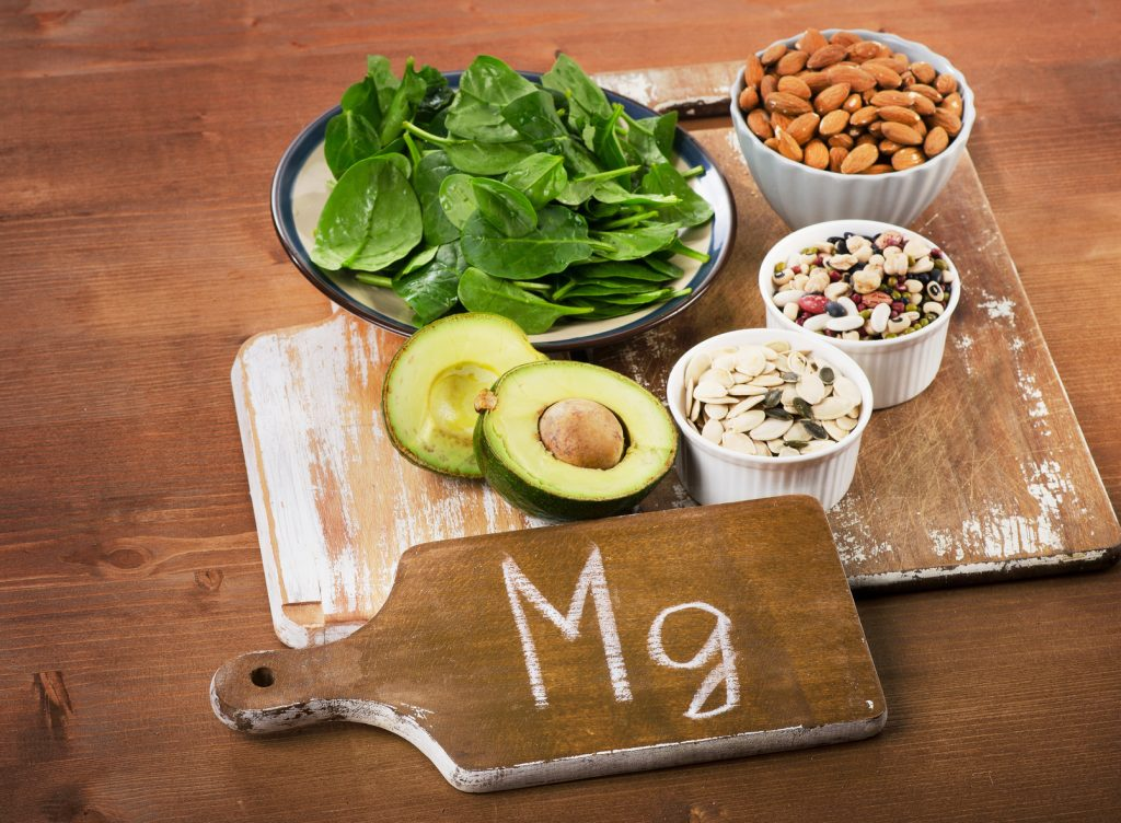 One way to avoid Mg depletion: Dark leafy greens, nuts, seeds