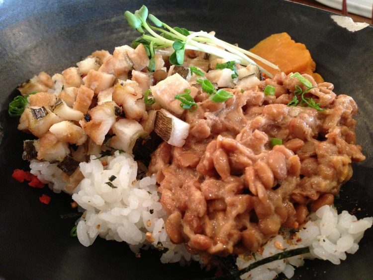 Traditional Japanese dish Nattō has one of the highest K2 concentrations.