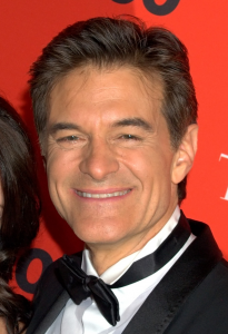 Dr. Oz is a proponent of glucomannan supplementation. By David Shankbone ([1] (Cropped)) [CC BY 2.0], via Wikimedia Commons