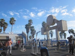 Muscle Beach, CA. By Db9023 (Own work) [CC BY-SA 3.0], via Wikimedia Commons