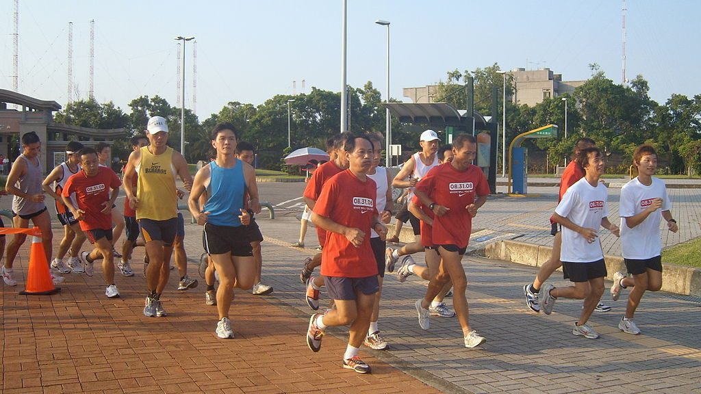 "Soda ""doping"", associated with long-distance running, is not actually a banned doping practice. Rico Shen [CC BY-SA 2.5 tw], via Wikimedia Commons"