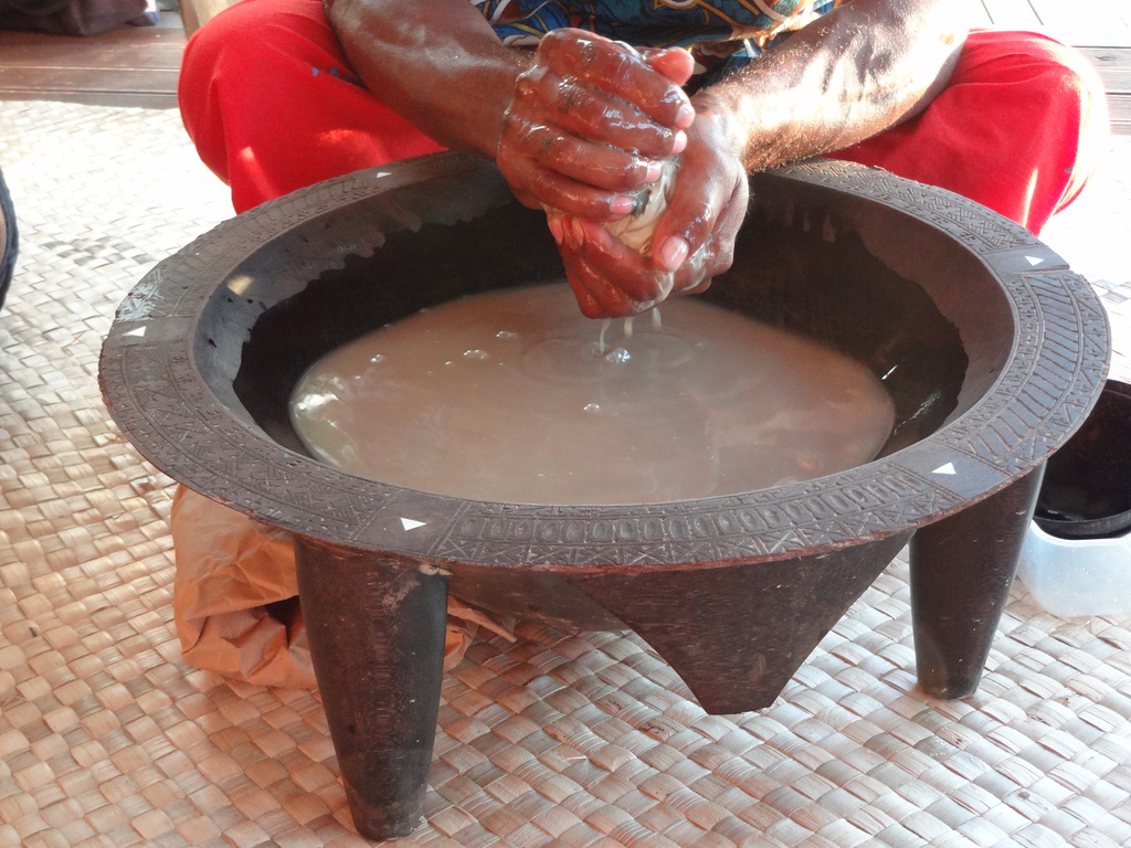 traditional kava preparation