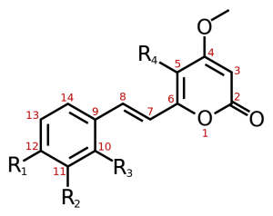 general-kavalactone-structure