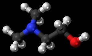 DMAE molecule.