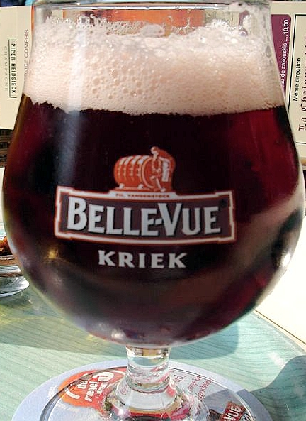 Kriek beer. By Adrian Scottow from London, England (Kriek Beer) [CC BY-SA 2.0], via Wikimedia Commons