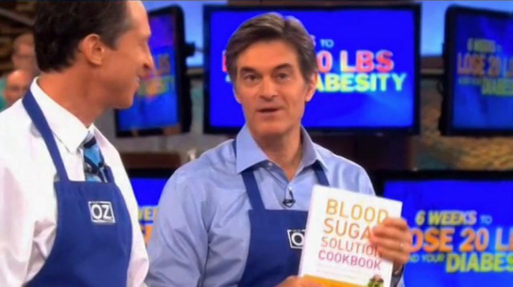 Dr. Oz sure does talk about fat loss a lot. And why not? Image from vimeo.