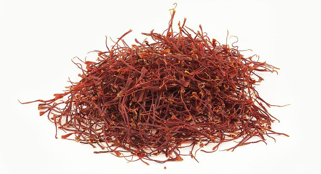 saffron-strands