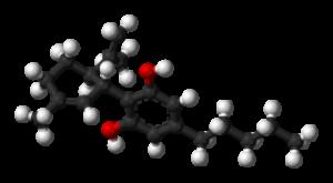 cannabidiol molecule structure