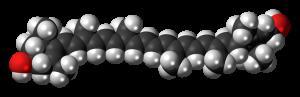 lutein molecule