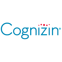 Cognizin citicoline logo and slogan, reflecting its nootropic and brain health emphasis
