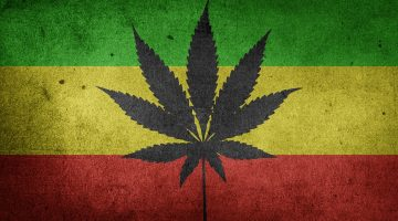 cannabis cbd marijuana flag