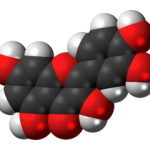quercetin molecule