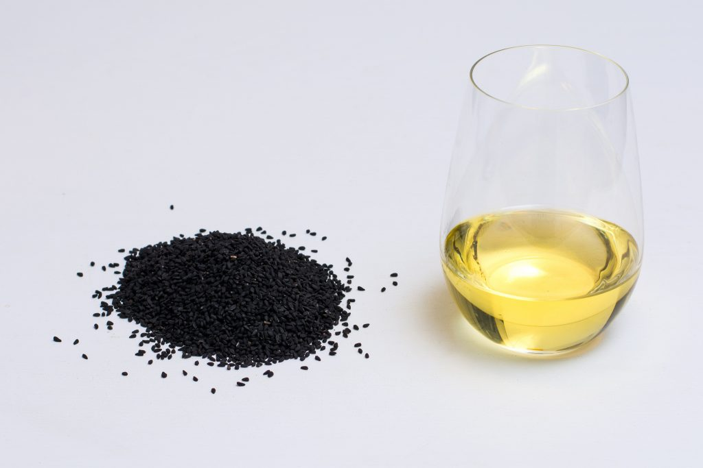 black cumin seeds and oil