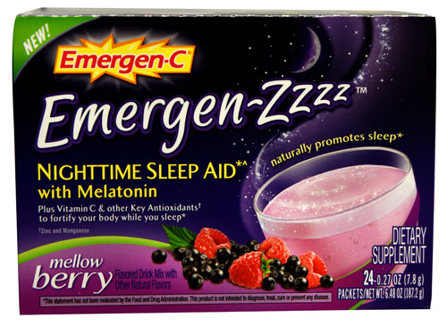 Emergen-Zzzz sleep aid